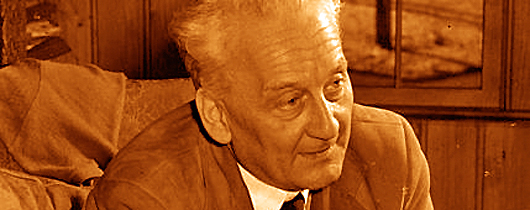 Portrait of Nobel Prize laureate Albert Szent-Györgyi when he was a research fellow at the National Institutes of Health from 1948 to 1950.